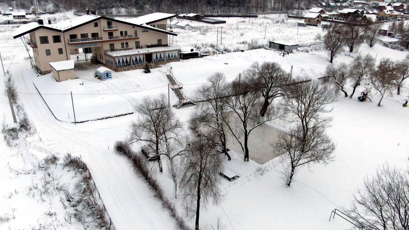 Гуляй Город зимой